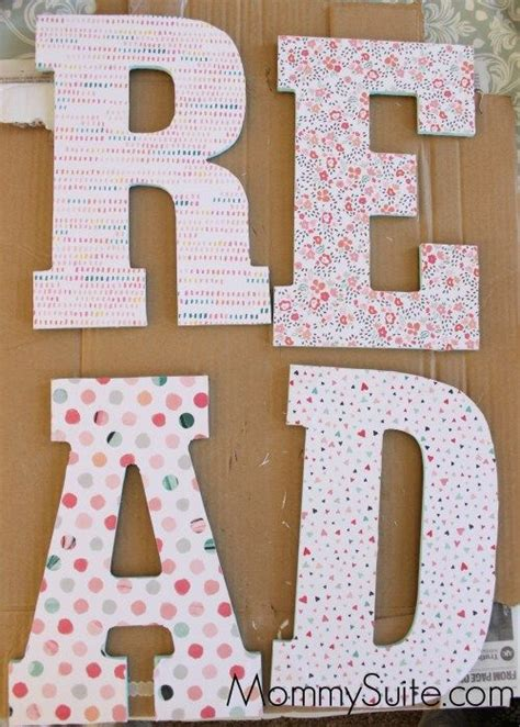 How To Decoupage Wooden Letters - best 25 decorated wooden letters ideas on