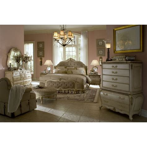 mansion bedroom furniture michael amini lavelle blanc 4pc king size mansion bedroom