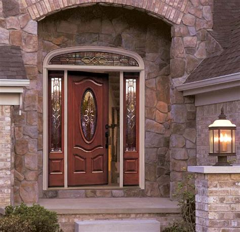 Outside Doors Best Fiberglass Exterior Doors Door Styles