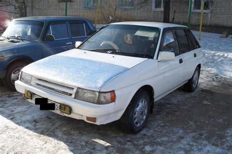 1990s Toyota 1990 Toyota Corolla Ii Pictures