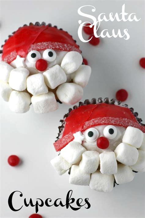 santa claus cupcakes diy catch my party