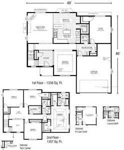 First Floor Master Home Plans by 2 Story Floor Plans With First Master Trend Home Design