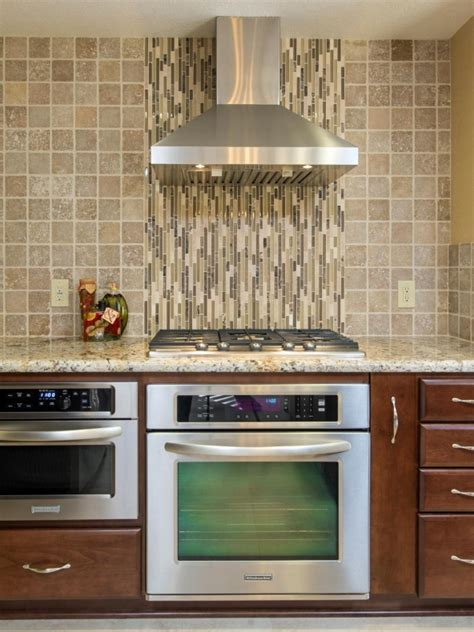 contemporary kitchen with stone tile glass panel in contemporary kitchen backsplash designs