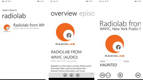 best podcast the best podcast apps for windows phone windows central