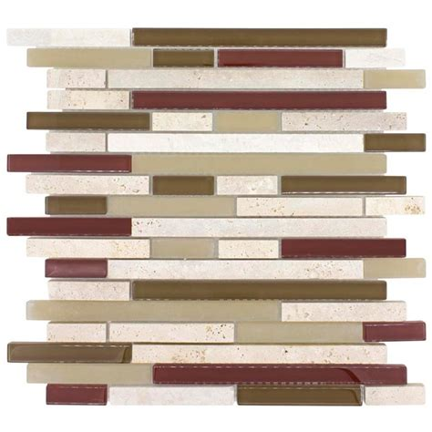 mosaic orchid brick mixed backsplash home really is