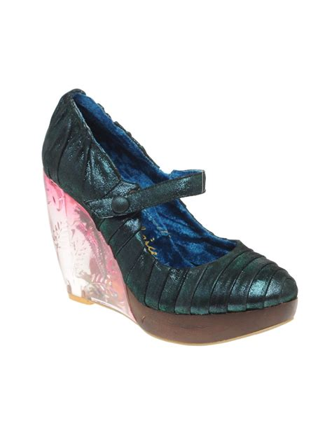 Irregular Choice Rosette Wedges At Asos by Object Moved