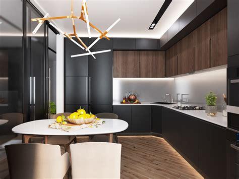 luxury kitchen lighting luxury styles 6 dark and daring interiors