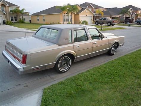car maintenance manuals 1989 lincoln town car engine control service manual buy car manuals 1989 lincoln town car auto manual find used 1989 lincoln town