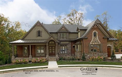 craftsman style home exteriors bellevue house plan 06112 front elevation craftsman