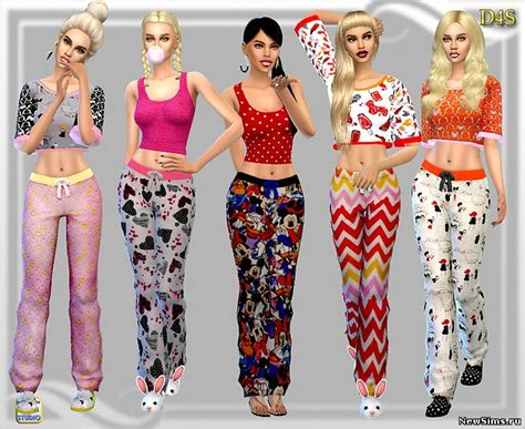 sims 4 pajamas 1000 images about sleepwear lingerie sims 4 on pinterest