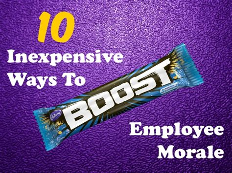 Search Morale 10 Inexpensive Ways To Boost Employee Morale