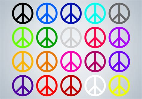 peace colours stand up for peace life is color