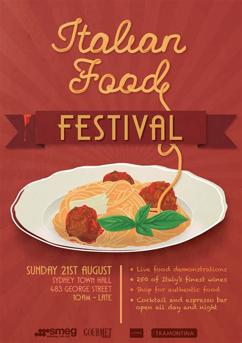 posters cuisine food festival poster on behance