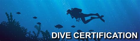 dive certification diving and
