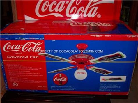 1997 coca cola ceiling fan coca cola ceiling fan 1997 bottle 44 quot coke globe