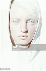 Pale Blue And White young woman with white hair and pale blue eyes stock photo getty