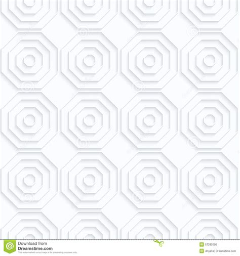 pattern svg offset quilling paper octagons with offset in row stock vector