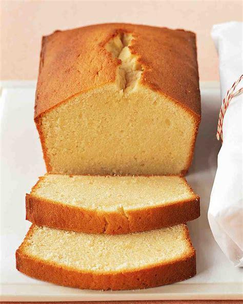 cream cheese pound cakes recipe martha stewart