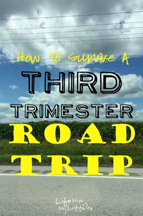 Third Trimester Detox by How To Survive A Third Trimester Road Trip Third