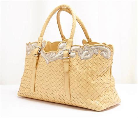 Bottega Veneta Ebay Alert With Bottega Veneta Purse by Bottega Veneta Yellow Woven Leather Intrecciato Gray