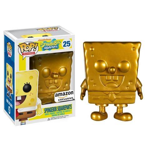 Funko Pop Spongebob Mr Krabs spongebob squarepants golden spongebob pop vinyl figure pop in a box uk