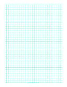 printable graph paper with one line every 6 mm on a4 paper