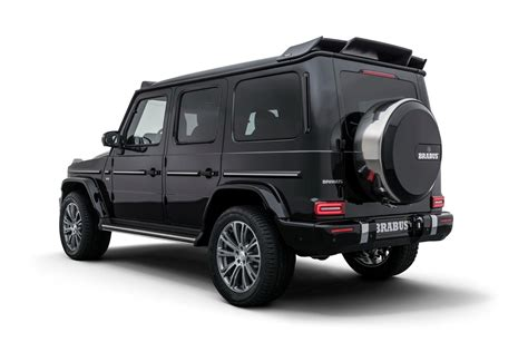 mercedes g class brabus brabus tunes the 2019 mercedes g class to nearly 500 hp