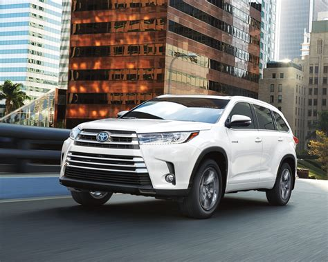 Snow Feature On Toyota Highlander 2017 Toyota Highlander Review
