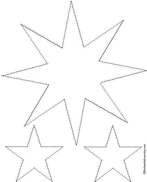 evergreen tree tracing cutting enchantedlearning sparkling template free printable template nanopics