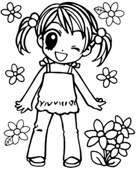imagenes kawaii anime para colorear chibis para colorear decorashojo