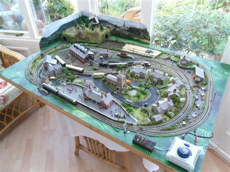 layout n scale train n scale layouts 4x8