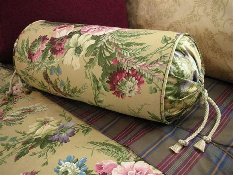 ralph lauren adriana bedding new custom ralph floral neck roll pillow neckroll bolster ebay