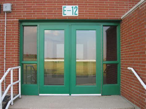 school doors door