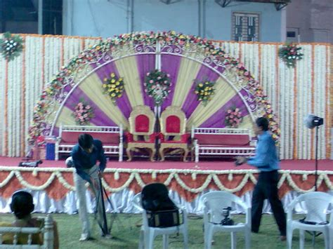 Marriage Stage Flower Decoration by Rich Stage Decoration With Beauriful Flowers Florist