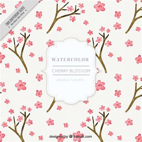 sfondi fiori di ciliegio acquerello fiore di ciliegio sfondo scaricare vettori gratis