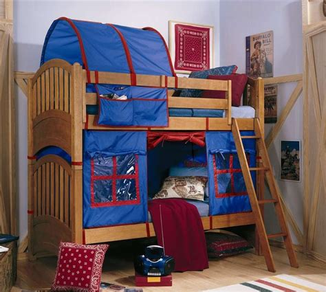 Bunk Bed With Tent My Place Bunk Bed Tent