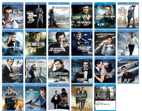 james bond film order james bond collection pre order blu ray slickdeals net