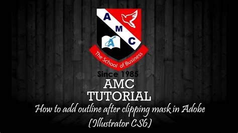 adobe illustrator clipping mask adobe cs6 tutorial on vimeo how to add outline after clipping mask in adobe