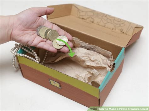 How To Make A Paper Treasure Chest - how to make a pirate treasure chest 11 steps with pictures