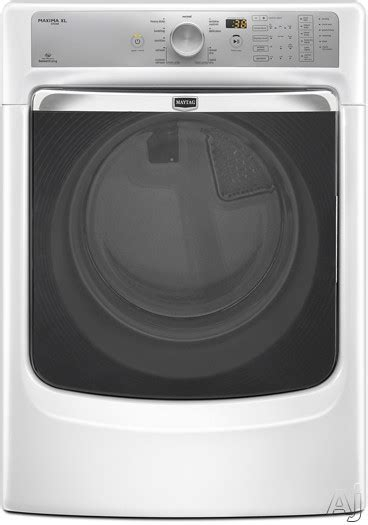 steam dryer static maytag med7000aw 27 quot electric steam dryer with 7 4 cu ft
