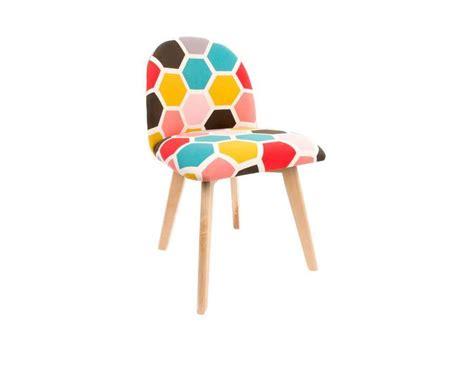chaise vintage color 233 e pas chere