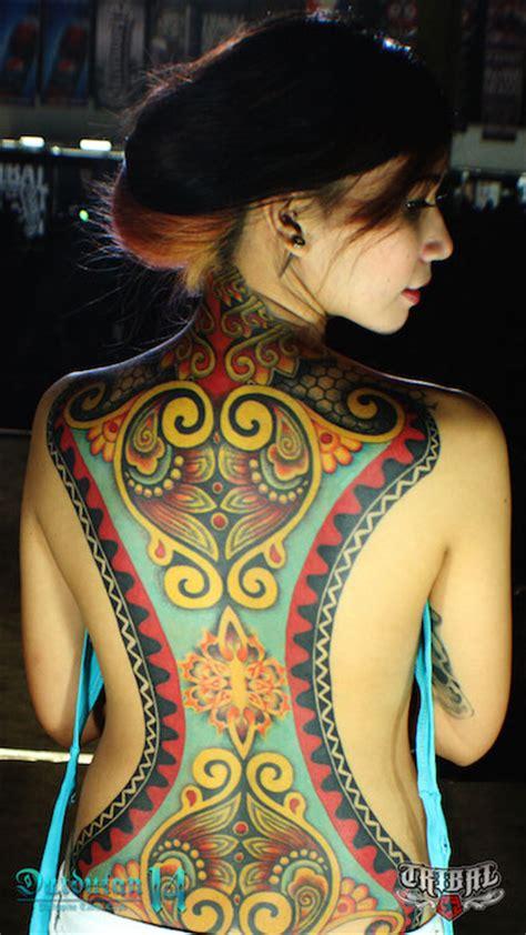tribal gear dutdutan tattoo festival 2014 tattoo