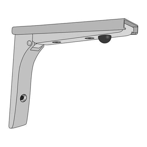 Folding Shelf Bracket Home Depot by Chrome Plated Folding Removable Shelf Bracket