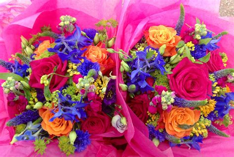 Bright Wedding Flower Picture by Bristol Wedding Flowers Seasonal Flowers In June The