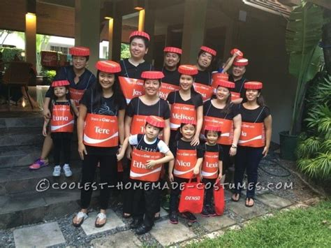awesome group costume idea shareacoke halloween