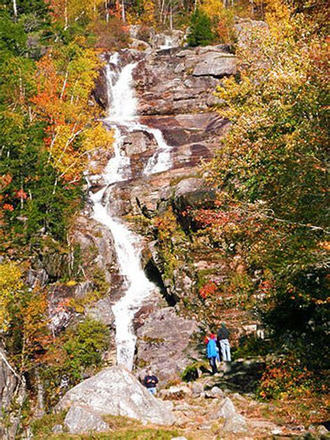 silver cascade nh new england waterfalls flume cascade silver cascade 300 foot drop waterfalls