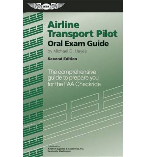 commercial pilot guide the comprehensive guide to prepare you for the faa checkride guide series books airline transport pilot guide