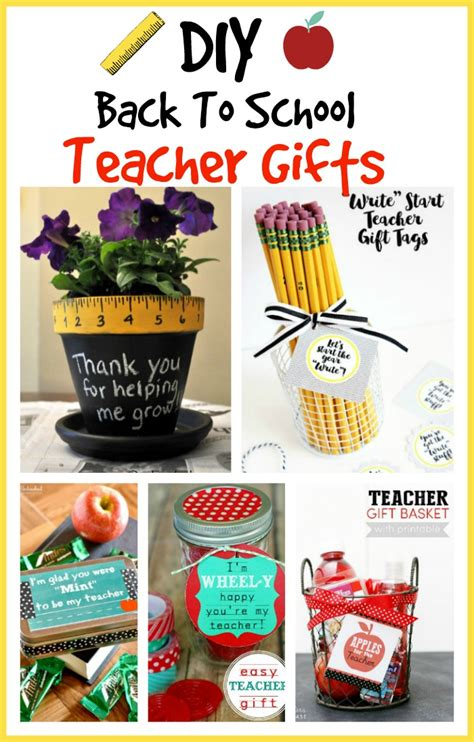 gifts for teachers brilliant diy gifts for teachers