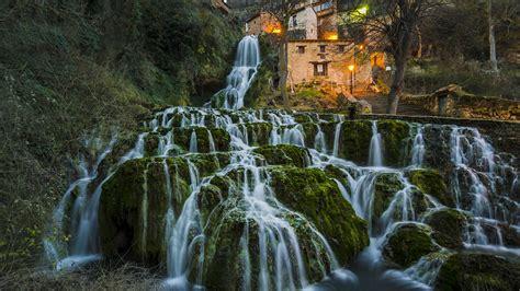 fonds decran espagne burgos cascades beau paysage