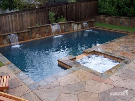 Small Inground Pools In Natural Small Yards Inground With Backyard Swimming Pool Ideas